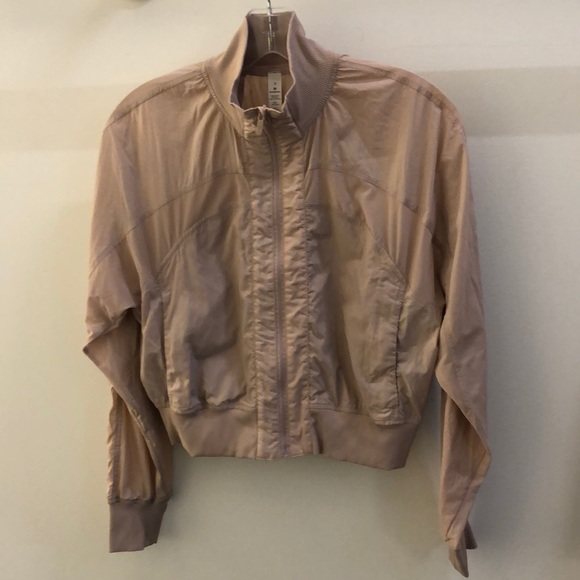 lululemon athletica Jackets & Blazers - Lululemon blush this jacket, sz 2, 68985